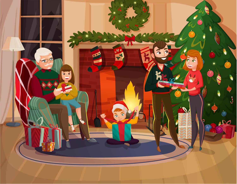 Navidad y conflictos familiares