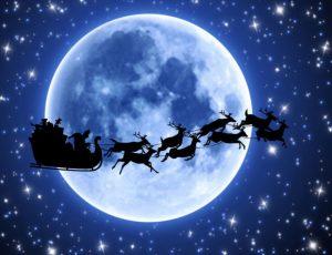 santa-sled-reindeer